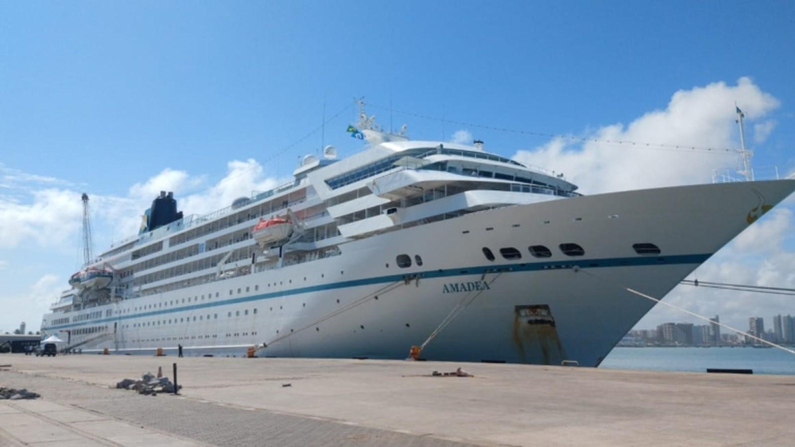 Primeiro cruzeiro da temporada 2020 já está em Fortaleza