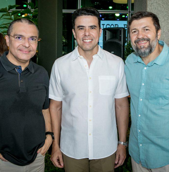 Daniel Demetrio, Nizabro Fujita E Elcio Batista