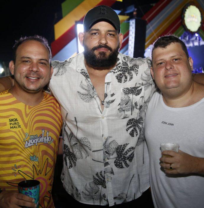Daniel Meireles, Renatal E Fernando Diogenes