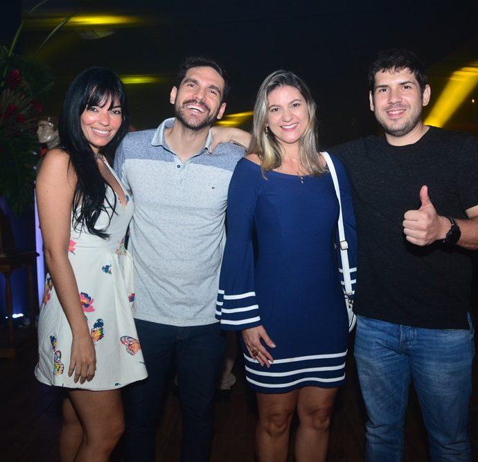 Daniela Barreto, Thiago Torquato, Karla Bessa E Val Vasconcelos