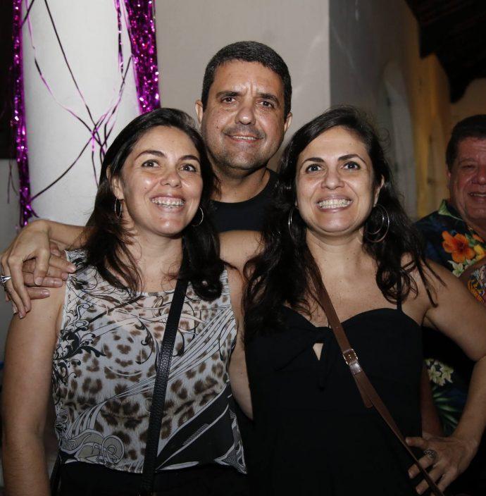 Daniele Calado, Gean Matos E Claudia Calado