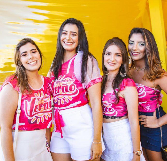 Daniella Rodrigues, Gabriella Rodrigues, Marina Marinho E Ingrid Teixeira