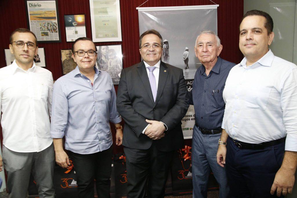 Amigos em Ação recebe Romildo Carneiro Rolim em Almoço-Debate