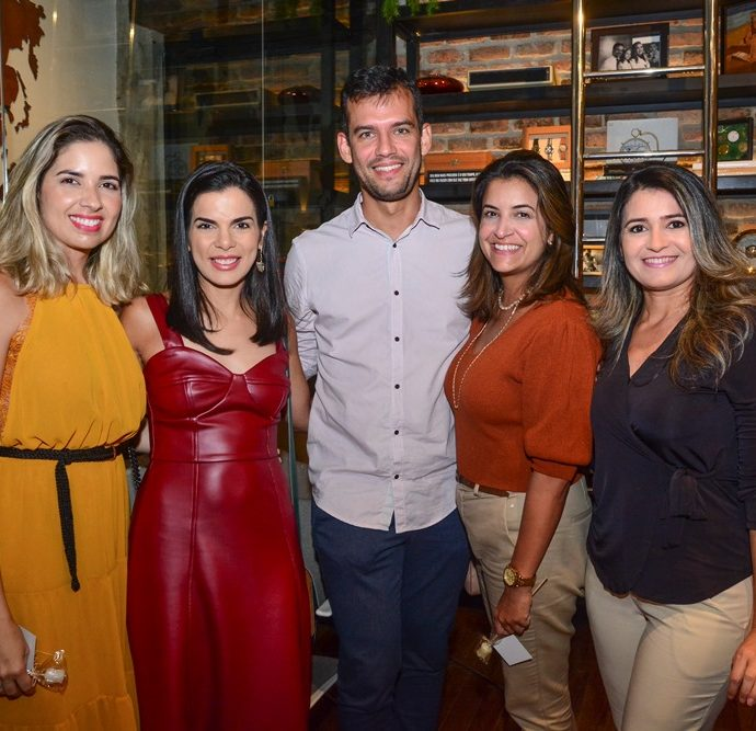 Denise Tomaz, Eliezer Feitosa, Mariana Leitão E Sheyla Oliveira