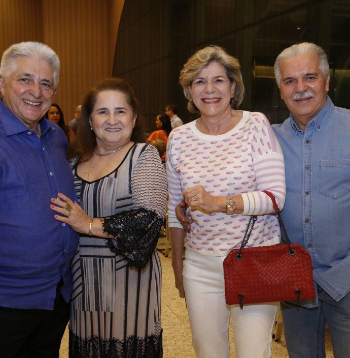 Deusmar E Auricelia Queiros, Stella E Pio Rodrigues