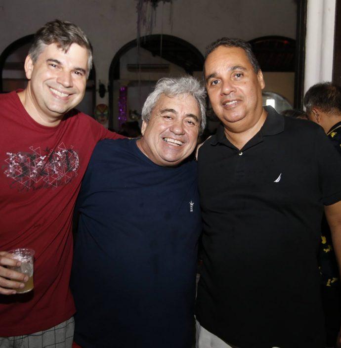 Eduardo Braga, Pirolho Pereira E Junior Ramos