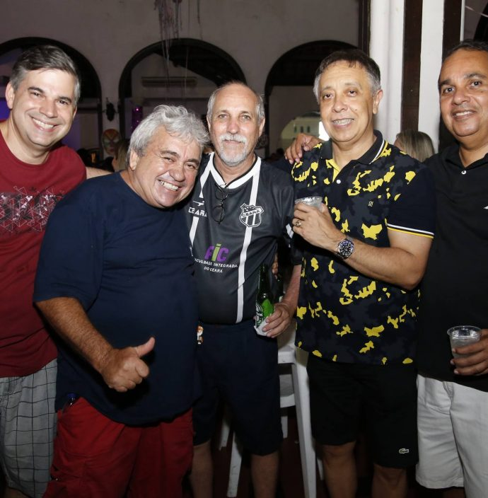 Eduardo Braga, Pirolho Pereira, Paulo Ograide, Ricardo Chaves E Junior Ramos