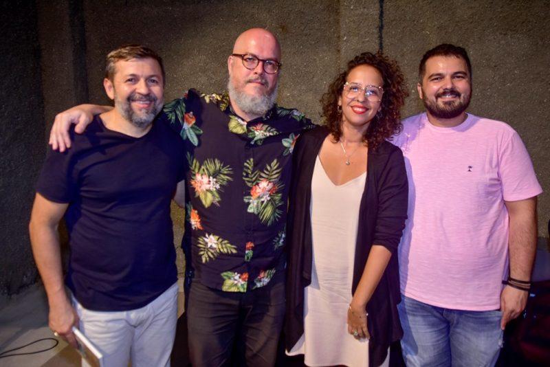 Élcio Batista, Joca Reiners Terron, Iana Soares, Júlio Camilo