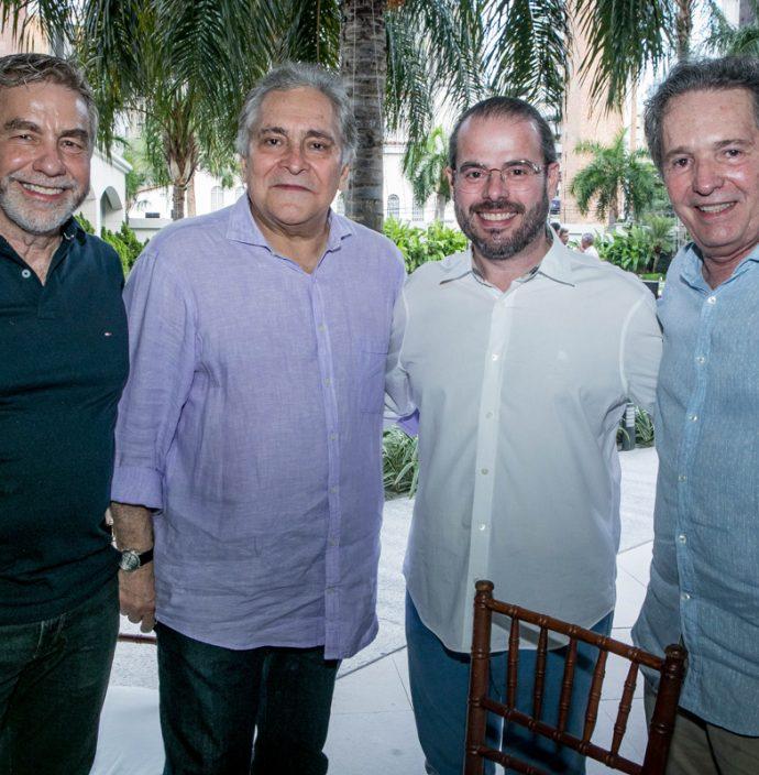 Eugenio Pontes, Luiz Pontes, Prisco Bezerra E Claudio Rocha