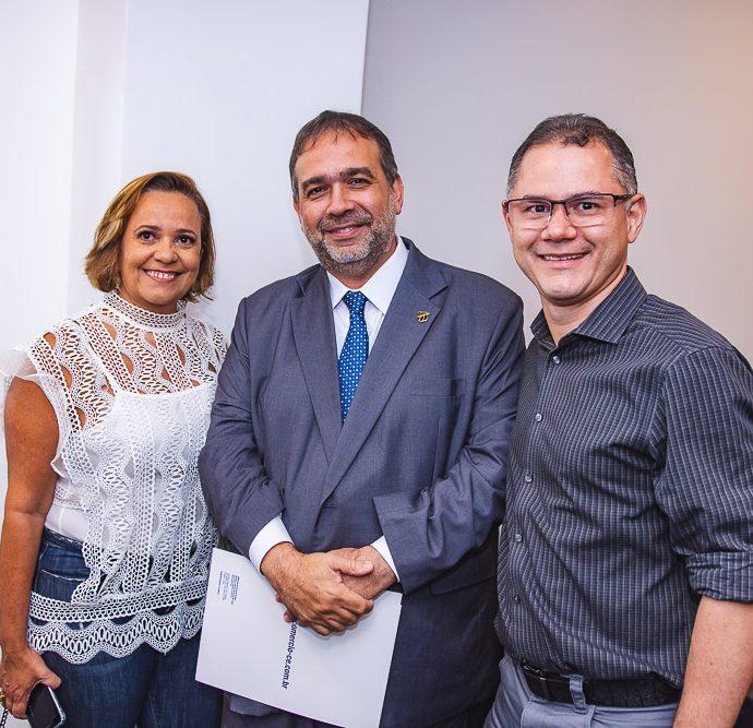 Eveline Costa, Hugo Leao E Rogério Magalhães