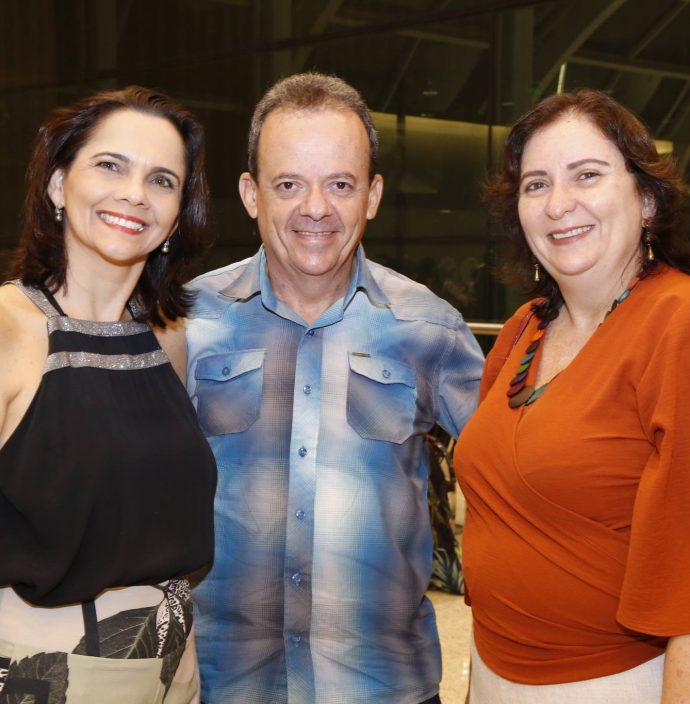 Eveline Perdigao, Ricardo Serpa E Wladia Alencar