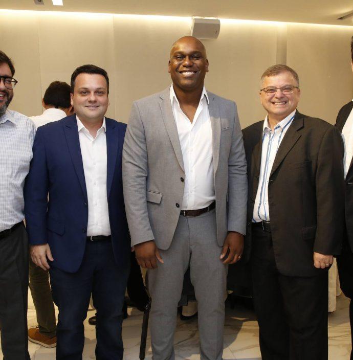 Felipe Dos Santos, Alexandre Dalollio, Clayton Do Carmo, Ranieri Medeiros E Adriano Marques