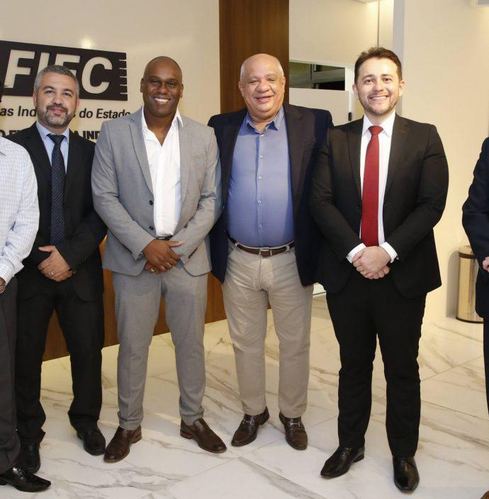 Felipe Dos Santos, Edvan Silva, Clayton Do Carmo, Pedro Alfredo, Romulo Marcel E Alexandre Maia