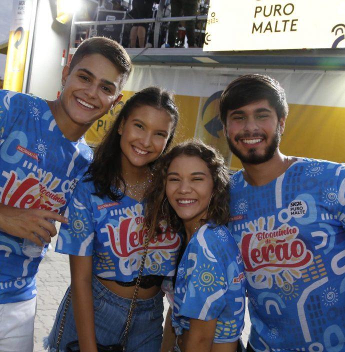Felipe Oliveira, Nicole Duarte, Gabriela Rabelo E Manuel Dantas