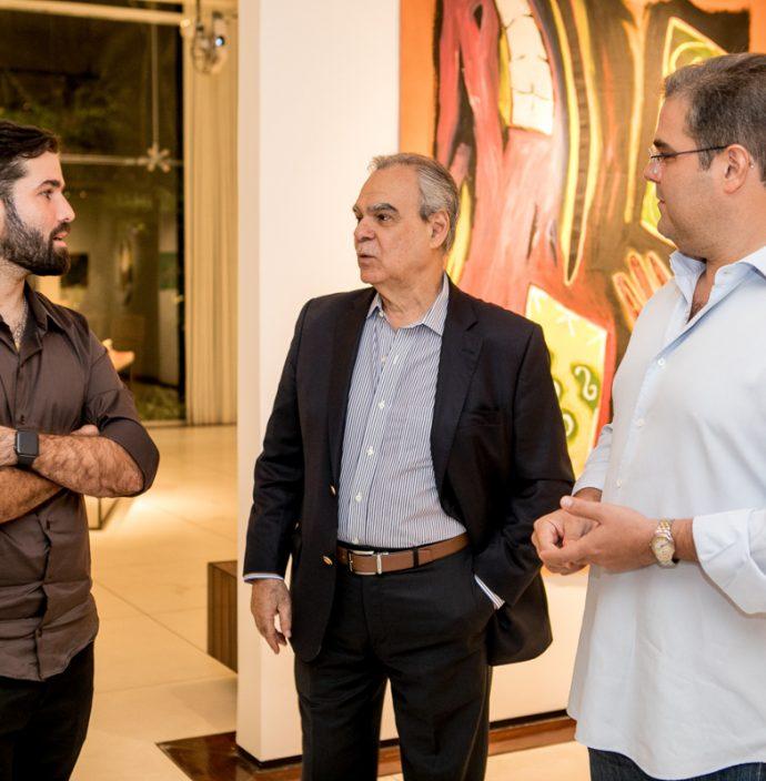 Felipe Rocha, Max Perlingeiro E Edson Queiroz Neto