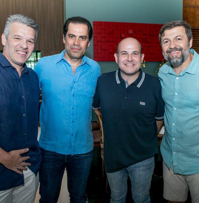 Ferruccio Feitosa, Etevaldo Nogueira, Roberto Claudio E Elcio Batista