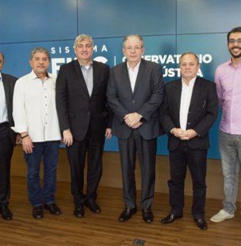 Diretor-presidente da Enel Ceará, Charles de Capdeville visita FIEC