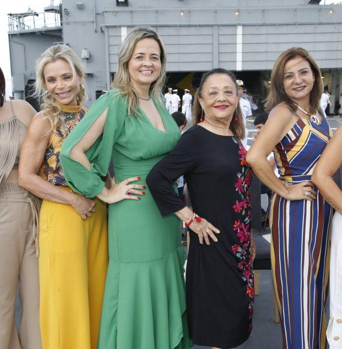 Flavia Castelo, Tania Vieira, Mychele Sampaio, Perpetua Pinto, Simone Cardoso E Luciana Silva