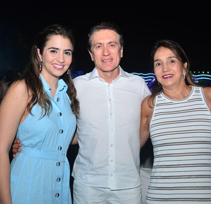 Flavia, Licio e Tereza Campos