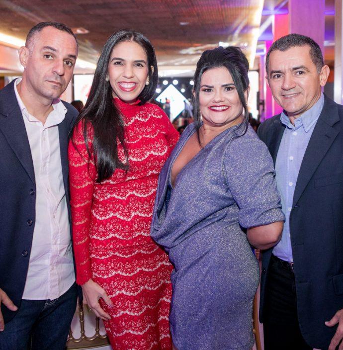 Francisco Morais, Soraia Gadelha, Rosangela E Samuel Pinho