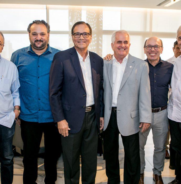Frederico Castro, Patriolino Dias, Beto Studart, Jose Antunes, Andre Montenegro E Lauro Martins