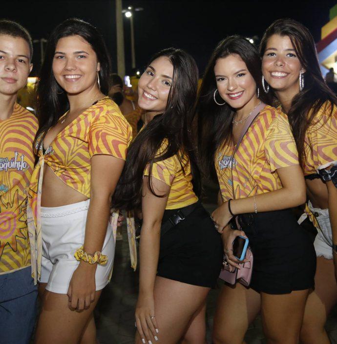 Gabriel Braga, Ivine Costa, Tamires Noronha, Roberta Cavalcante E Giovanna Borges