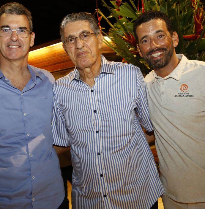 Geraldo Luciano, Jose Hissa E Max Lima