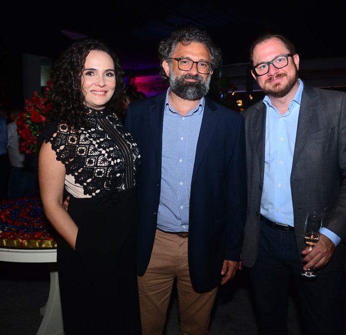 Germana Moura, Jocélio Leal E Marcus Soares