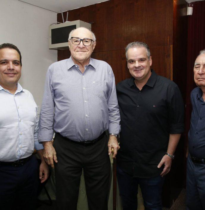 Germano Belchior, Luiz Marques, Bernardo Maia E Walter Belchior