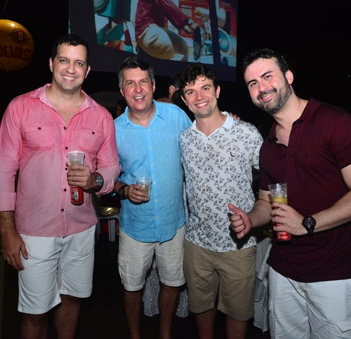 Gildo Passos, Flavio Farias, Gilvando Carneiro, Alan Crosser