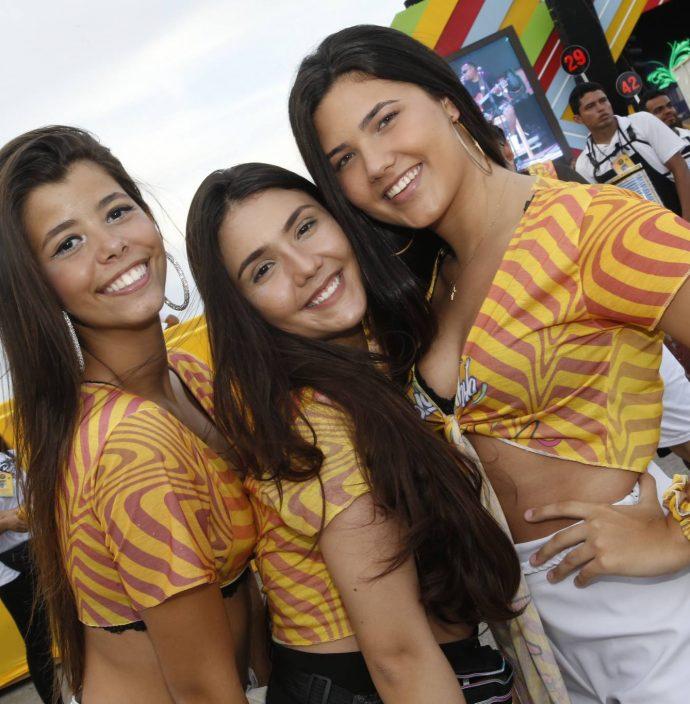 Giovanna Borges, Tamires Noronha E Ivine Costa