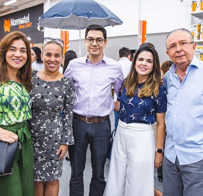 Gisele Brasil, Marcia Feitosa, Erick Picanço, Livia Medeiros E Antonio Jose Mello