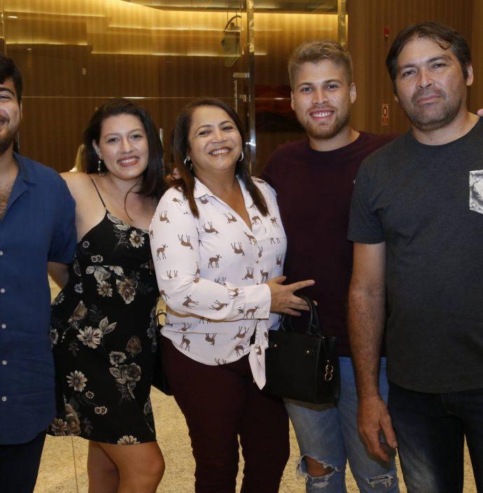 Hamilton Ribeiro, Andreia Nogueira, Silvaly Melo, Guilherme Bryan E Hamilton Ribeiro