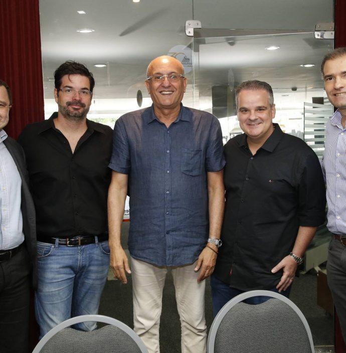 Heroldo Maia, Andre Pires, Rodrigues Junior, Bernardo Maia E Luiz Eduardo