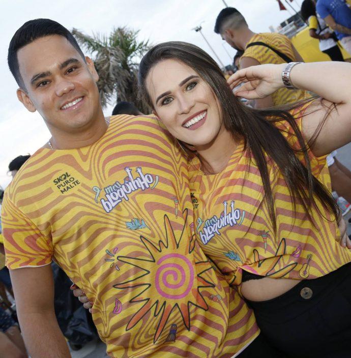 Hugo Leitao E Lorena Leite