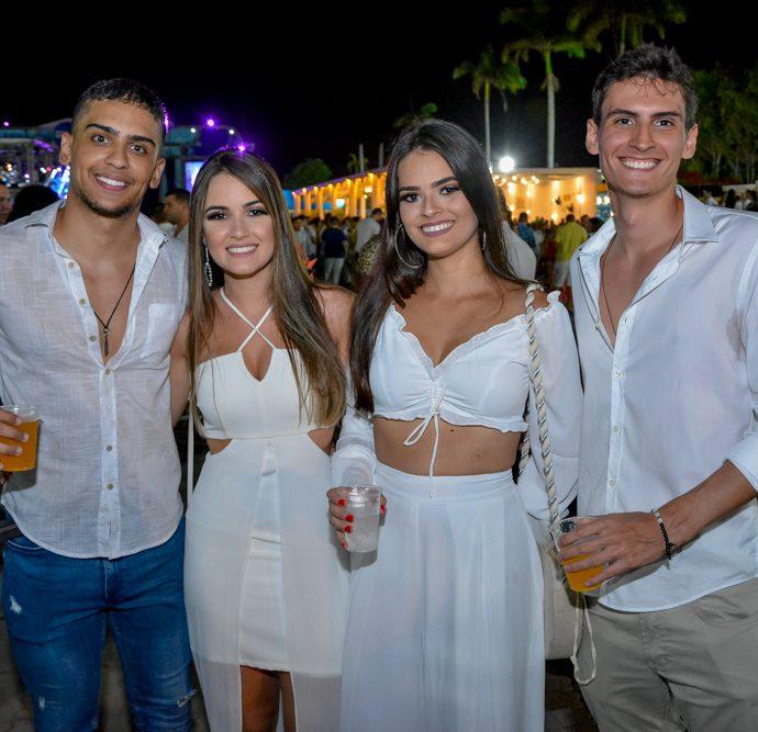 Hugo Andrade, Lorena Magalhães, Ana Luiza E Lucas Gomes