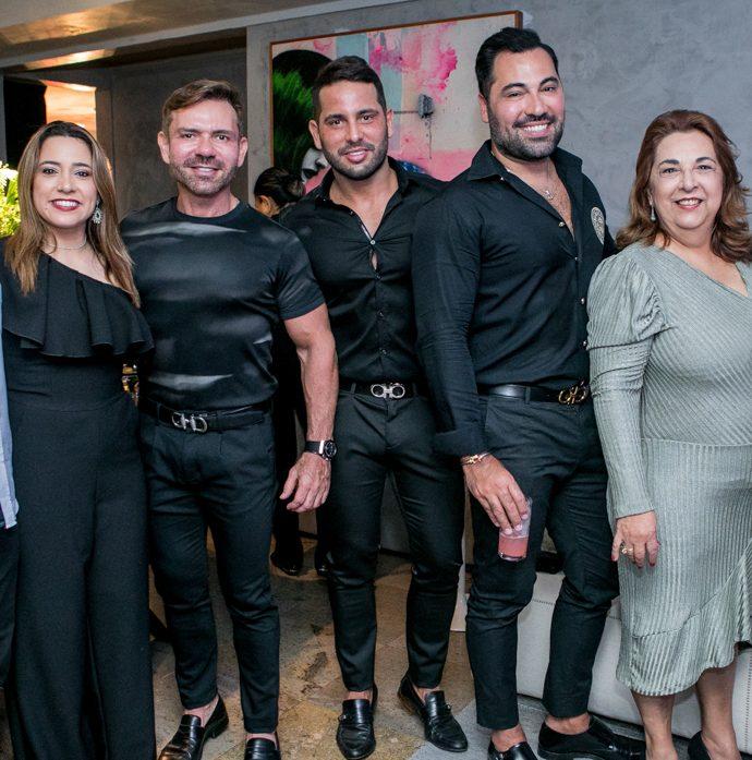 Humberto E Patricia Halliday, Fred Carioca, Veri, Felipe, Germana E Veri Besa