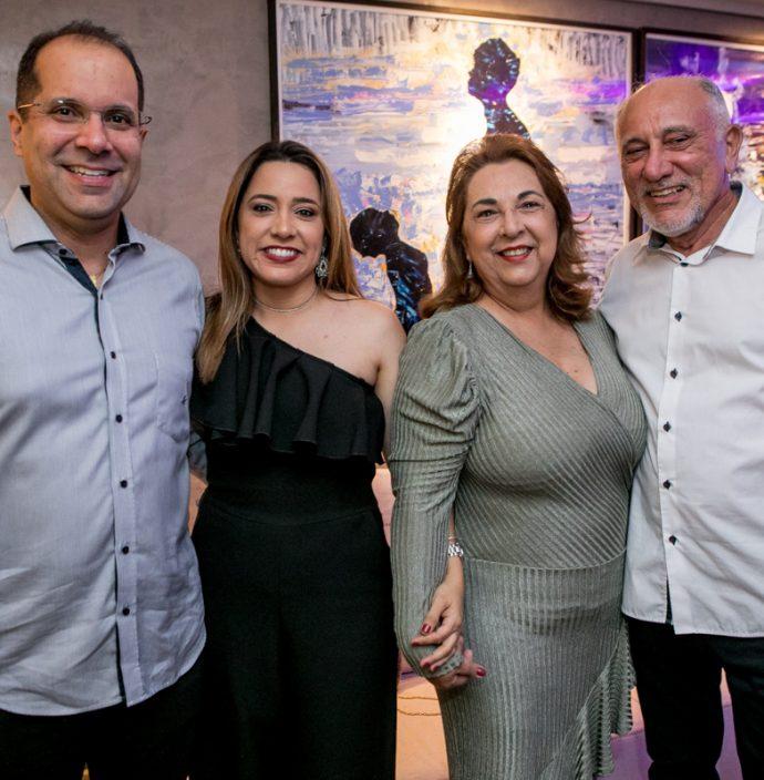 Humberto E Patricia Halliday, Germana E Veri Bessa