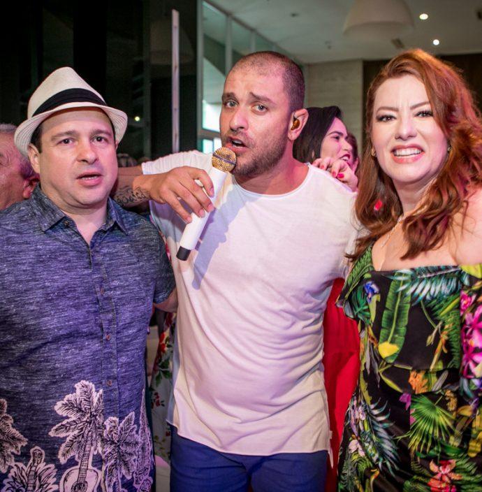 Igor Barroso, Diogo Nogueira E Aline Barroso