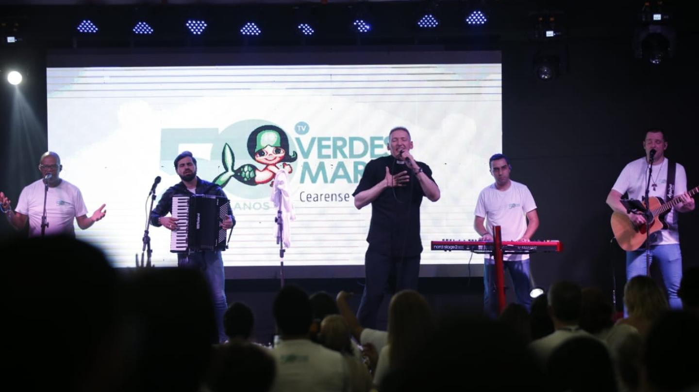 TV Verdes Mares celebra 50 anos de atuação no Ceará em clima de fé, alegria e gratidão