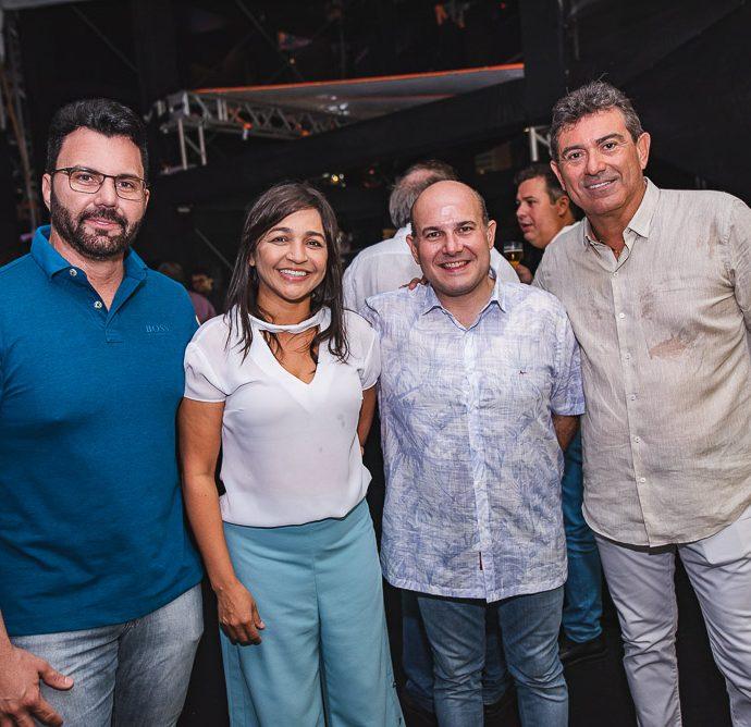 Inacio Melo, Elisiane Gama, Roberto Claudio E Alexandre Pereira