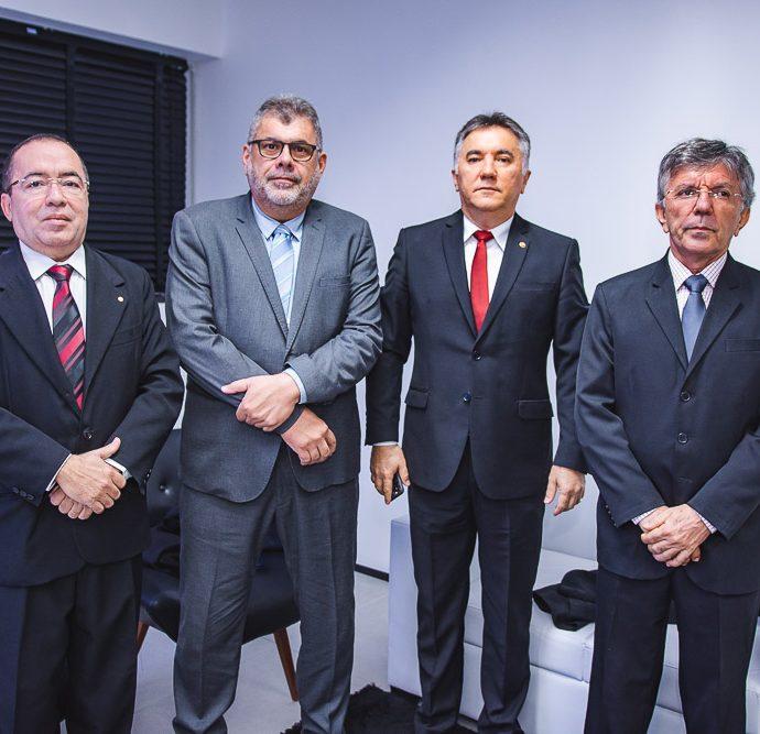 Iran Sirio, Jose Wilson, Pinheiro e Jose Mauricio