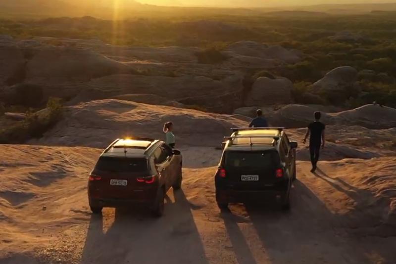 Modelos Jeep são colocados à prova no Esporte Espetacular