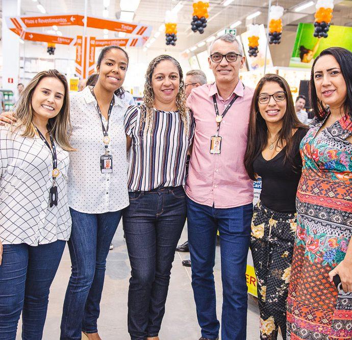 Jessica Torquato, Nileia Pereira, Marina Freire, Alexandre Gualberto, Graziela Carline E Celia Aragao
