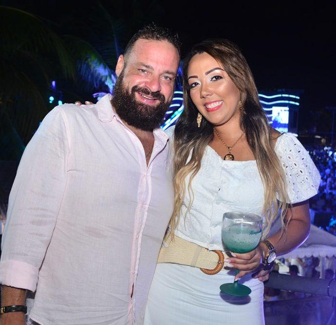 João Bernardo e Valéria Cristina