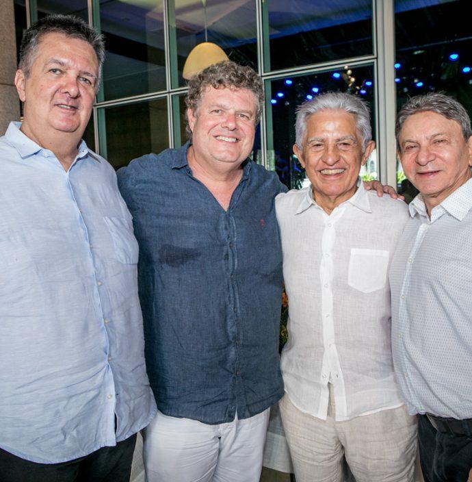 João De Sá Cavalcante, Evandro Colares, Oto Sa Cavalcante E João Rabelo