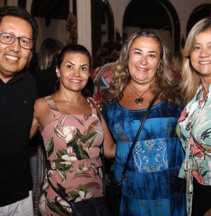 Joao E Cibele Proença, Virginia Canito E Iales Cardoso