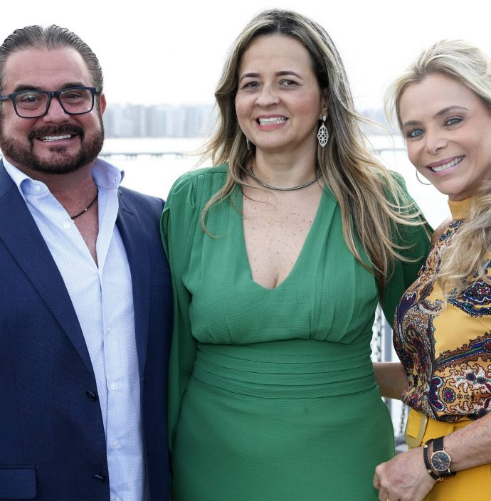 Joao Jorge, Mychele Sampaio E Tania Vieira