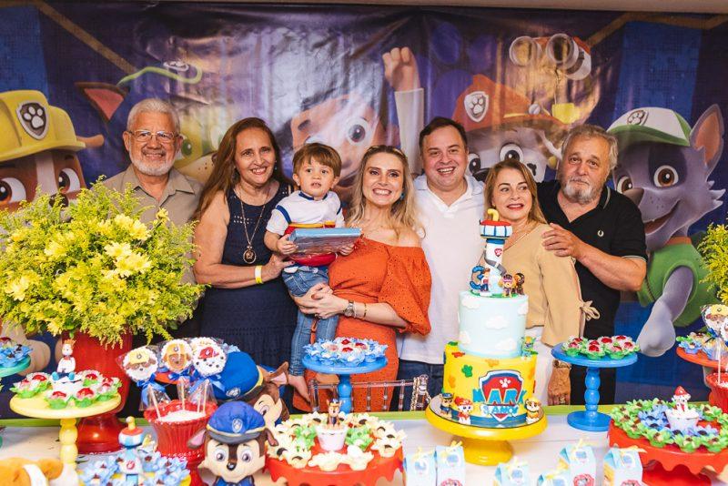 Sessão Parabéns - Com muita diversão e alegria, Mark e Renata Viana festejam o terceiro aniversário de Mark Filho