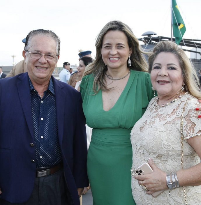 Jose Valdo, Mychele Sampaio E Marta Peixe
